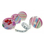 roller tape measure rollfix decor pastell